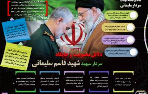 دلایل محبوبیت و جایگاه سردار سپهبد شهید قاسم سلیمانی
