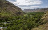 فیلم| زیباییهای قلعهچای عجبشیر و آبشار هرگلان