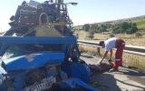 سانحه رانندگی مرگبار در شهرستان بستان آباد+ عکس