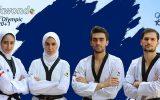 مدال نقره المپیک بر گردن تکواندوکاران آذربایجانشرقی